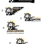 angels at work logos