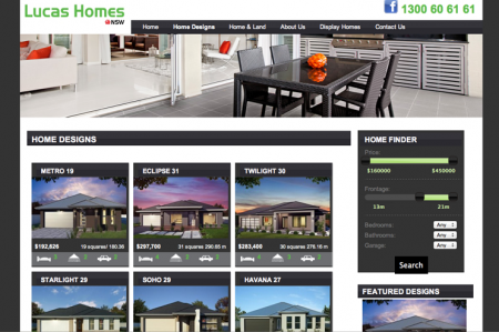 Custom Property listings and jQuery slider search