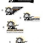 angels at work logos
