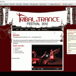 Screen shot -Trance and tribal festival